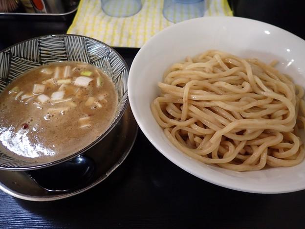 煮干つけ麺・並@シロクロ・岩手県矢巾町