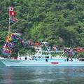 巾着網・灯船の進水(1)H29,6,26