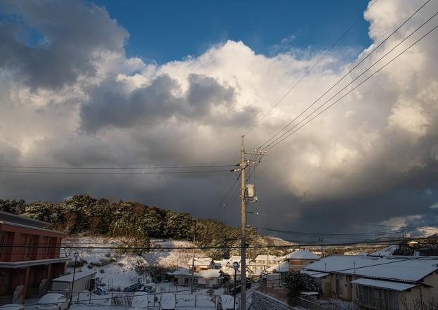今朝の雪景色 H30,1,24