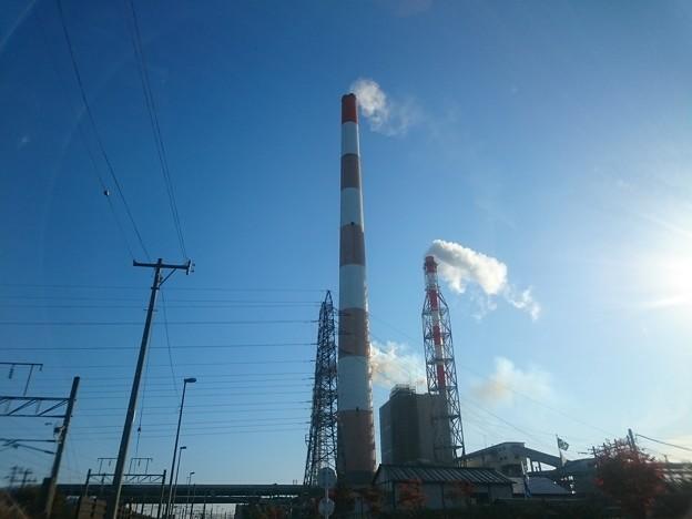 写真: 10月16日(月)の煙突