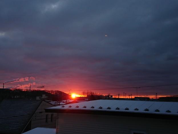 写真: 1月4日(木)の朝陽