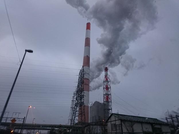 1月9日(火)の煙突