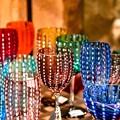 写真: colourful glass