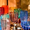 写真: colourful glass