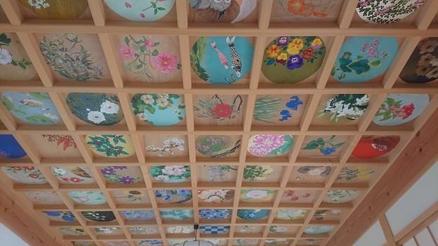 1205正寿院3客殿 則天の間天井画