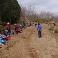 写真: 0114東お多福山2昼食