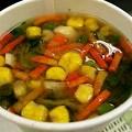 【今日の味噌ズッペは気合の野菜っです】~ねらほ。おかげさんで今朝も美味しくぉぉきにごっそさ~ん♪みたいな1