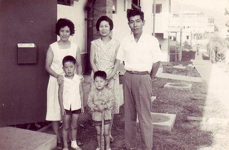 典型的家族写真
