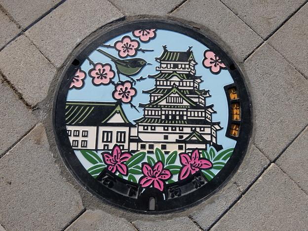 茨城県・常総市(マンホールカード図案)