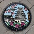 Photos: 茨城県・常総市(マンホールカード図案)