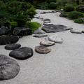 写真: 出雲文化伝承館:庭の飛び石【蔵出し】