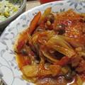 Photos: チーズインハンバーグ野菜トマト煮込み