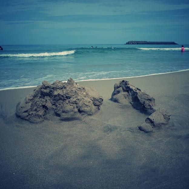 Photos: 砂の城