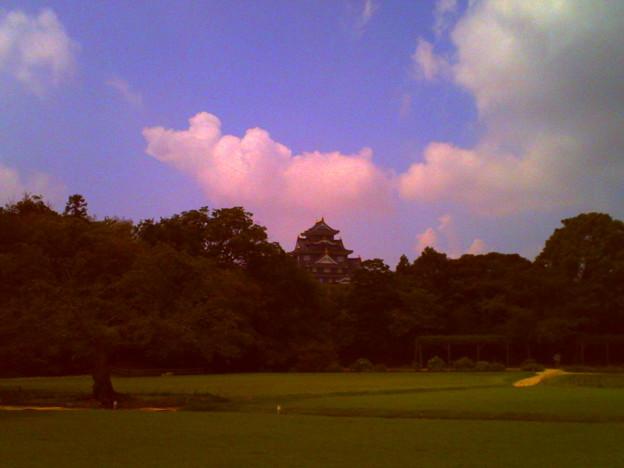 写真: 入道雲
