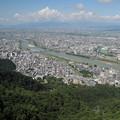 写真: 岐阜城からの眺め