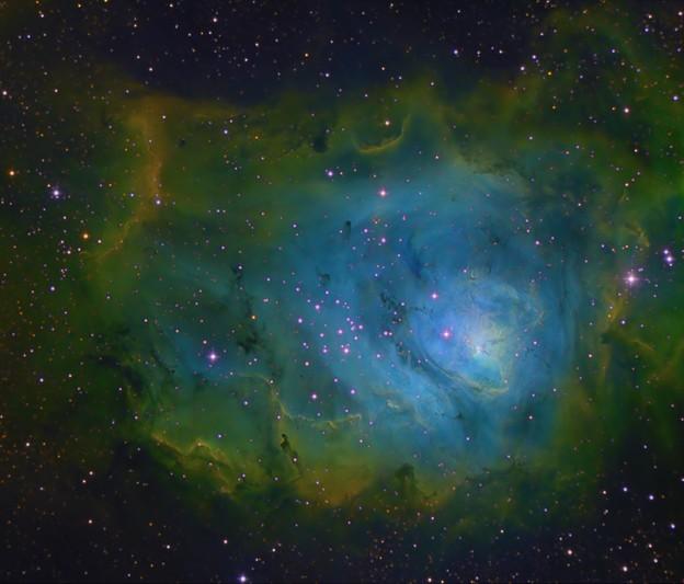 M8ハッブルパレット