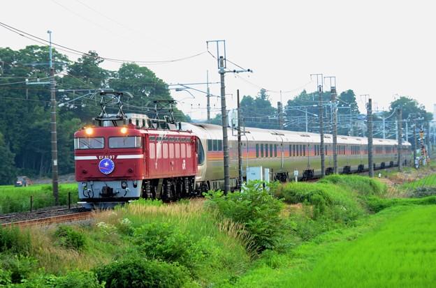 Photos: EF81 97牽引カシオペア紀行号青森行き