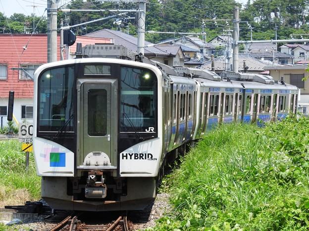 Photos: HB-E210系仙石東北ライン快速仙台行き