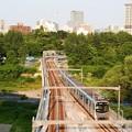 Photos: 広瀬川を渡る仙台地下鉄東西線