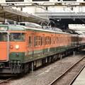 Photos: 115系信越本線145M横川行き高崎5番発車前