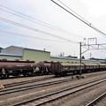 安中駅のトキ25000とタキ1200