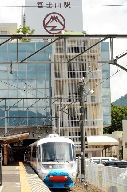 フジサン特急6号富士山到着