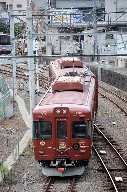 富士急富士登山電車3号大月入線