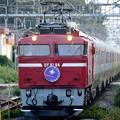 EF81 98号機牽引カシオペア紀行号間々田1番通過