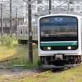 E501系K751編成水戸線752M小山到着