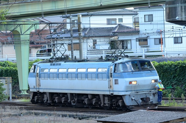 EF66 127号機宇都宮貨物(タ)入換え