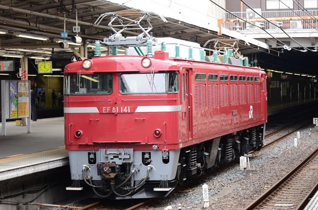 EF81 141(長岡)大宮発車
