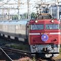 EF81 97牽引カシオペア紀行号9012レ雀宮2番入線