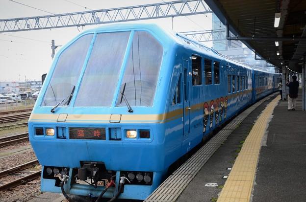 キハ58系「Kenji」編成臨時快速湯瀬渓谷紅葉号秋田発車