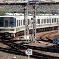 Photos: 221系みやこ路快速京都入線