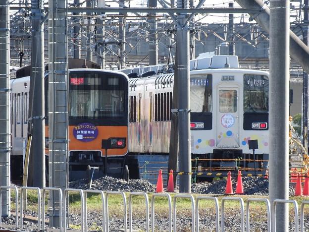 スカイツリートレイン&東武ファンフェスタ体験乗車号