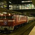 EF81 133号機牽引カシオペア紀行号盛岡行き 雀宮2番入線