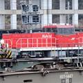 大晦日の貨物駅 HD300-15号機