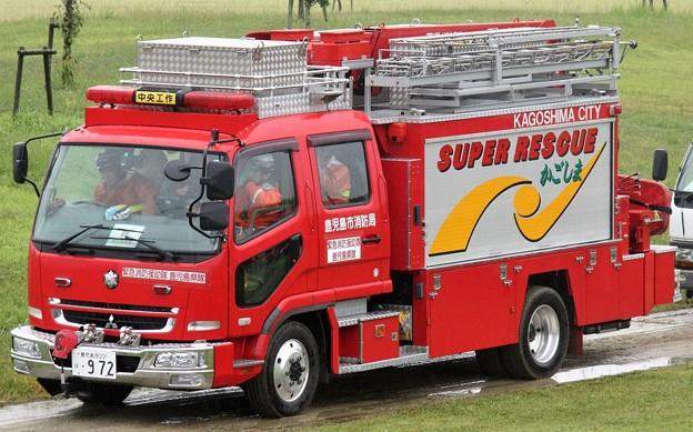 鹿児島市消防局 lll型救助工作車
