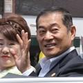 Photos: 神戸まつり 神戸開港150年パレード 川中美幸 松平 健