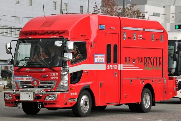 三重県津市消防本部 lll型救助工作車