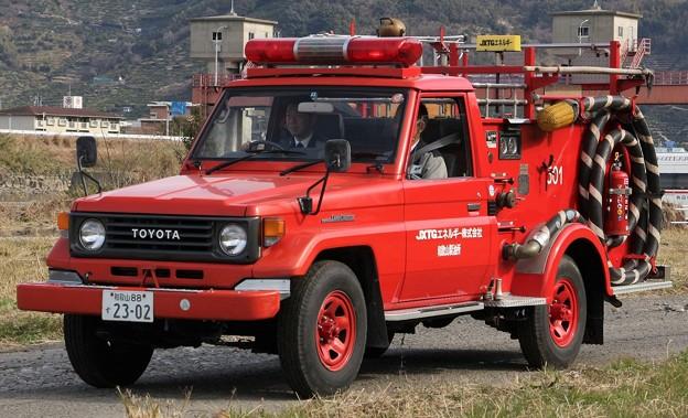 JXTGエネルギー和歌山製油所 BS-Iポンプ車