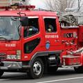 写真: 大阪府吹田市消防本部 水槽付ポンプ車