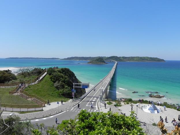 写真: 念願の角島大橋PART1