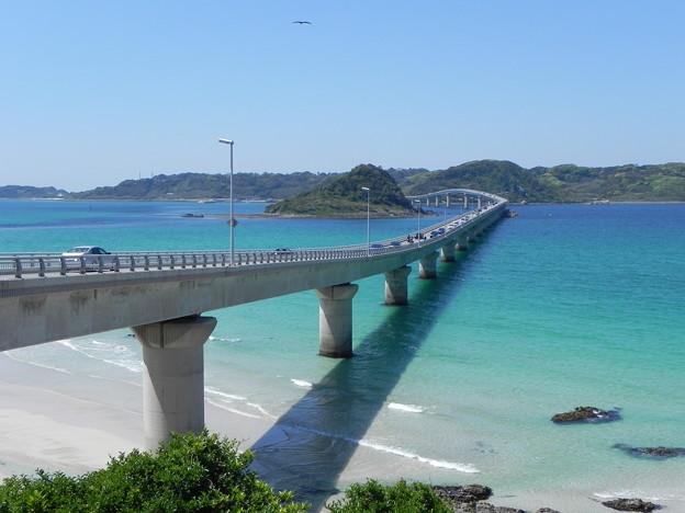 写真: 念願の角島大橋PART2