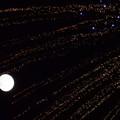 写真: お月さま、ミルキーウェイを行く