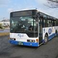 両備バス 三菱ふそうエアロスター 岡山200か12-14
