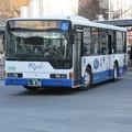 両備バス 三菱ふそうエアロスター 岡山200か・876