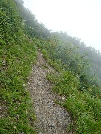 地蔵岳途中