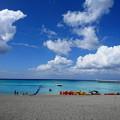 写真: ブセナ海中公園のビーチ♪