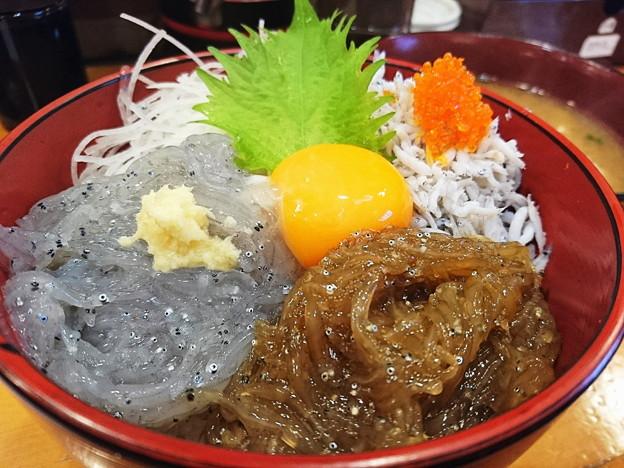 Photos: 生しらす丼